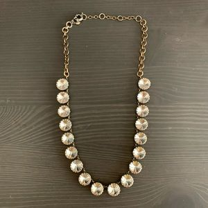 J Crew Factory crystal necklace